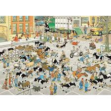 JAN VAN HAASTEREN CATTLE MARKET 1000 PCS