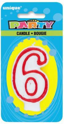CANDLE BOUGIE NO.6