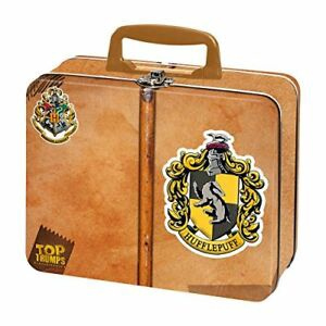 HARRY POTTER TIN TOP TRUMPS HUFFLEPUFF