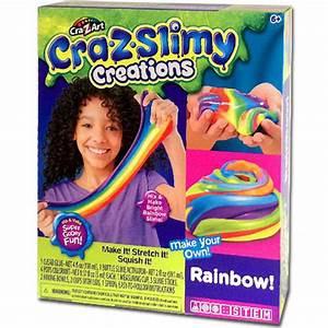 CRA-Z-SLIMY CREATIONS SLIMY FUN-RAINBOW