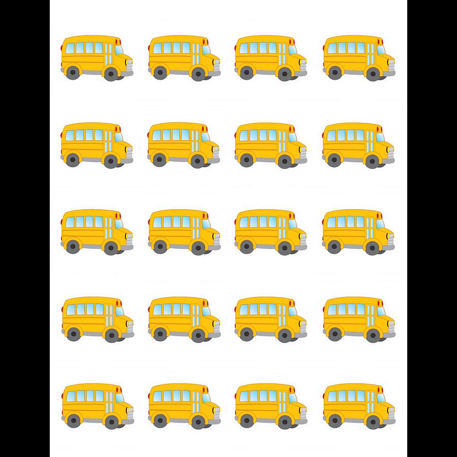 TCR 5651 SCHOOL BUS STICKERS