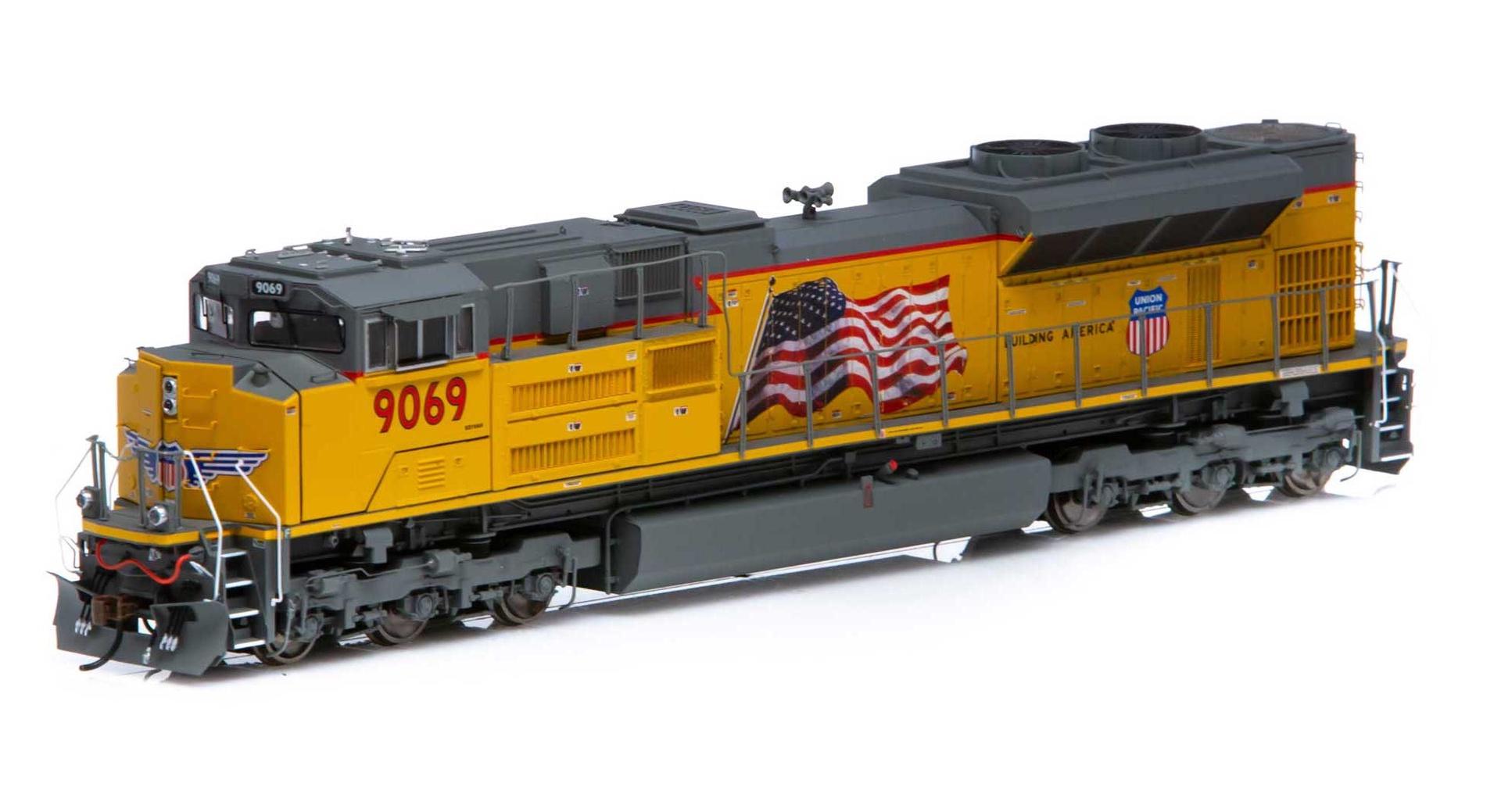 Athearn Genesis #AHTG89844 SD70Ace Union Pacific Tsunmai 2