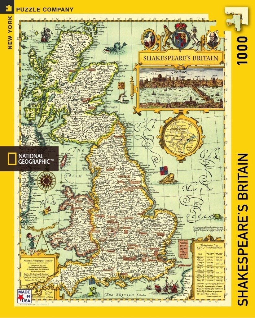 NAT GEO SHAKESPEARE'S BRITAIN