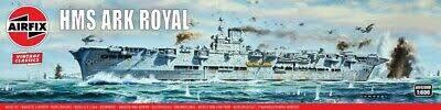 Airfix #A04208V 1/600 HMS Ark Royal-Vintage Classics