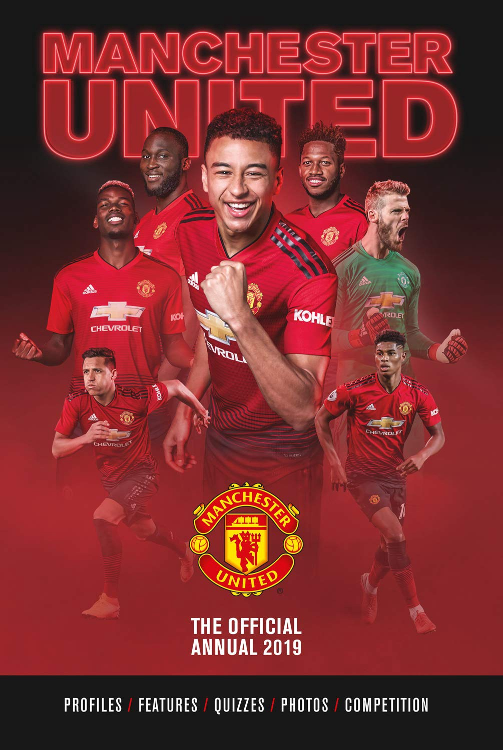 OFFICIAL MANCHESTER UNITED ANNUAL 2019 (HB)