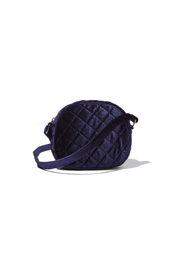 Milky QUILTED SLING BAG Navy