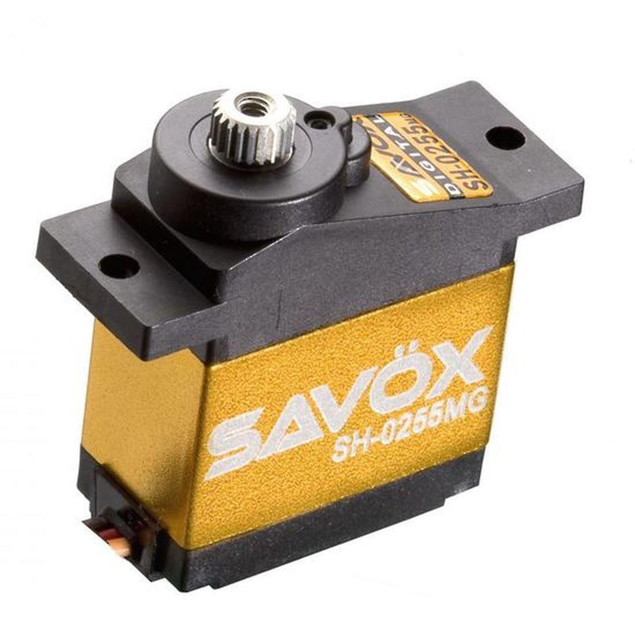 Savox #SH-0255MG Metal Gear Micro Digital Servo