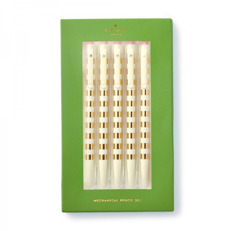 Gold Mechanical Pencil Set by Kate Spade