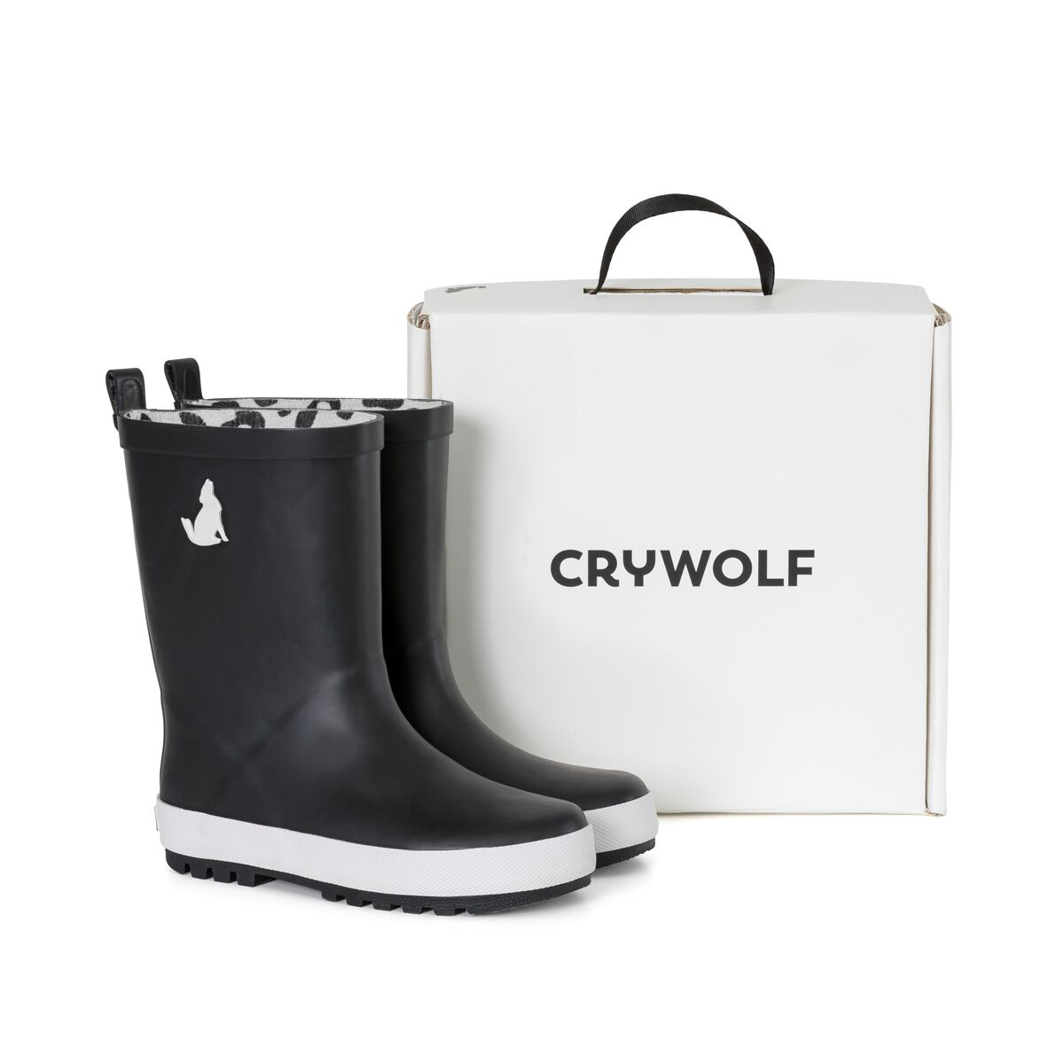 Crywolf Rain Boot Black