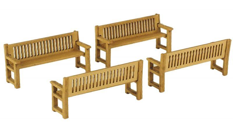Metcalfe #PO503 OO/HO Park Benches