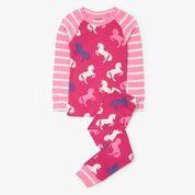 Hatley Playful horses raglan pyjama