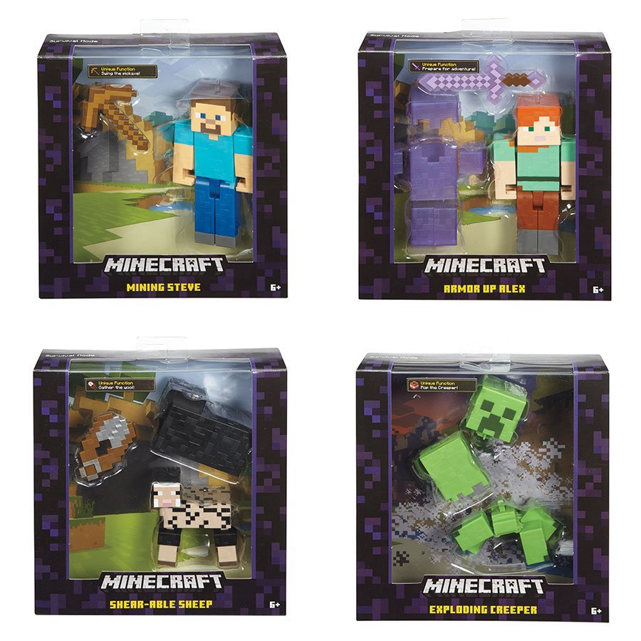 "MINECRAFT 5"" NEW BASIC FIGURE"
