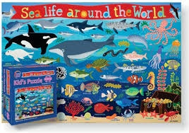 SEA LIFE AROUND THE WORLD 100 PCS