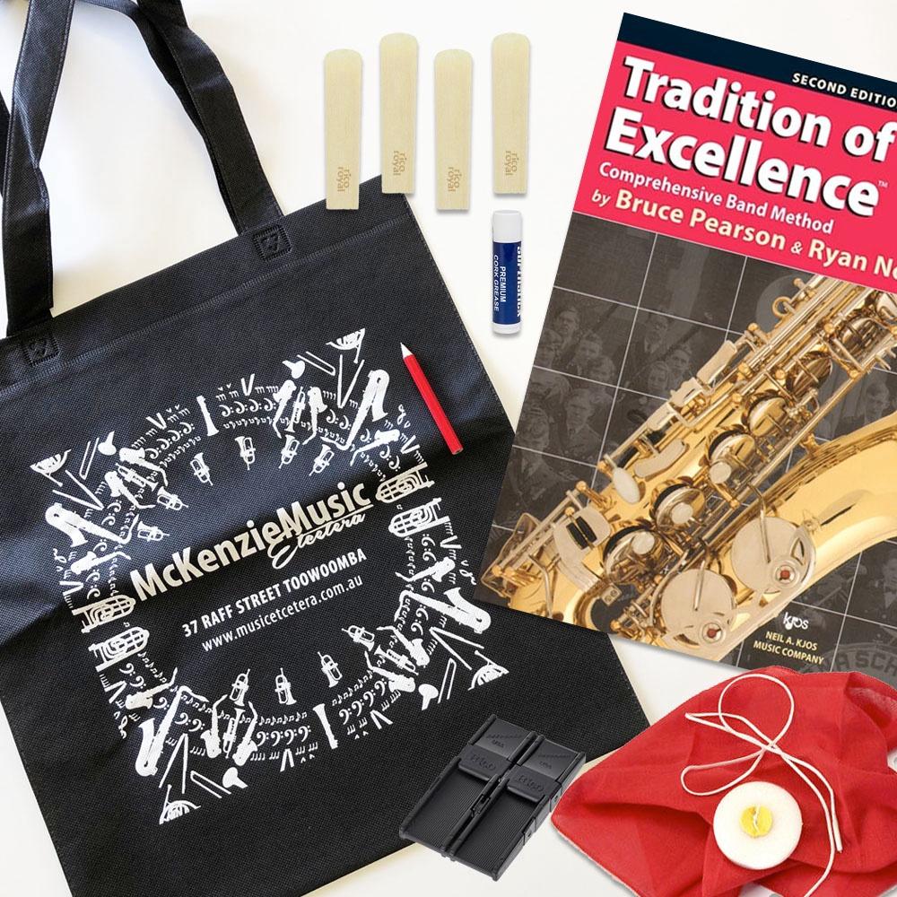 Alto Saxophone Beginner Kit