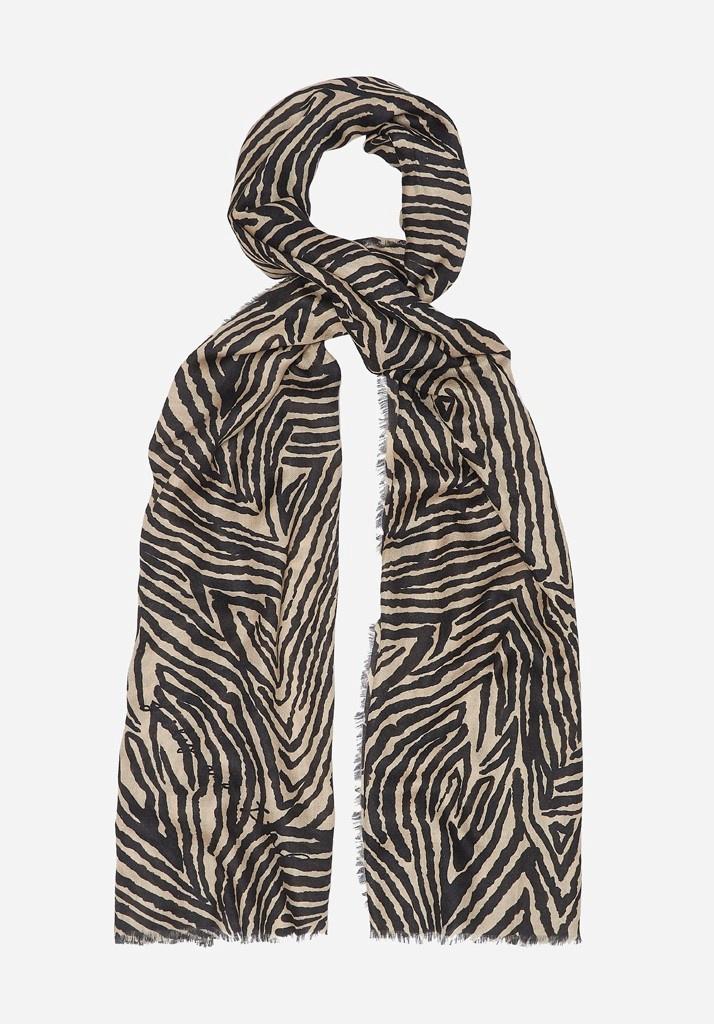Zebra Silk Scarf by Lily & Lionel