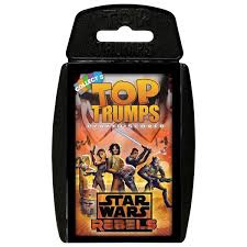 TOP TRUMPS STAR WARS PLAY & DISCOVER