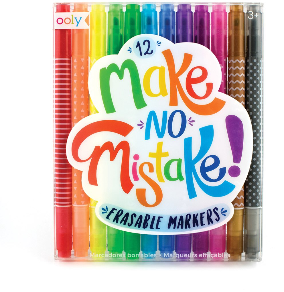 MAKE NO MISTAKES ERASABLE MARKERS