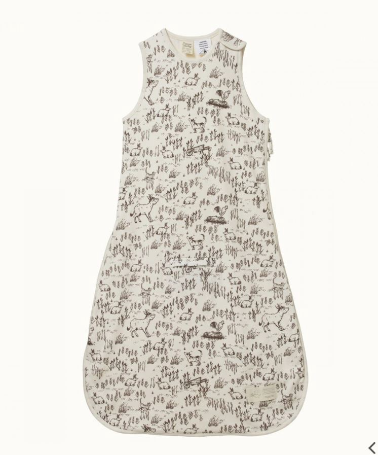 ORGANIC COTTON SLEEPING BAG - BARNYARD SLEEPWEAR
