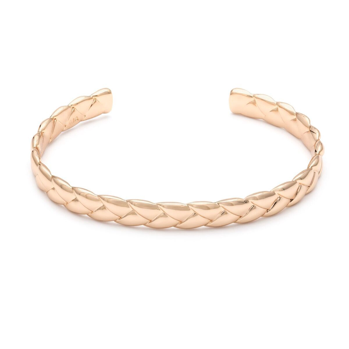 MELANIE AULD - WOVEN CUFF IN GOLD