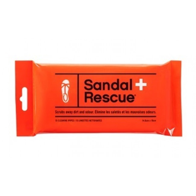 BOOT RESCUE - SANDAL RESCUE WIPES 15