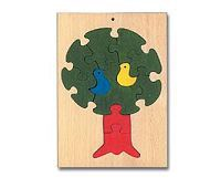 Wooden Toy Co Tree Puzzle