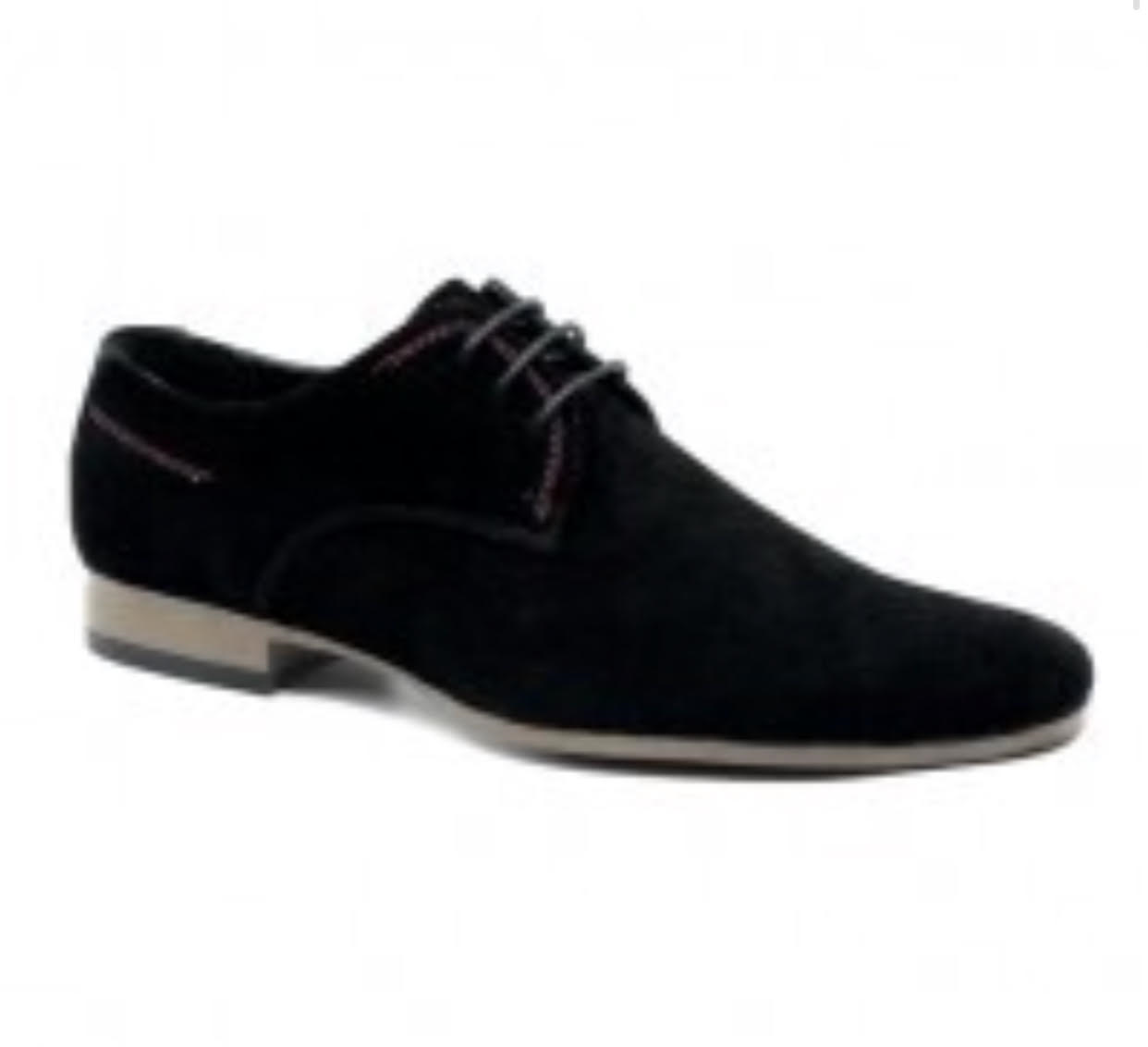 Menswear Men's Shoes - Black Suede Casual Shoes