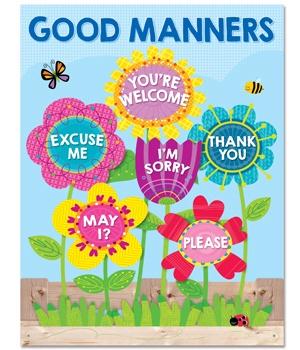 CTP 5556 GARDEN OF GOOD MANNERS CHART