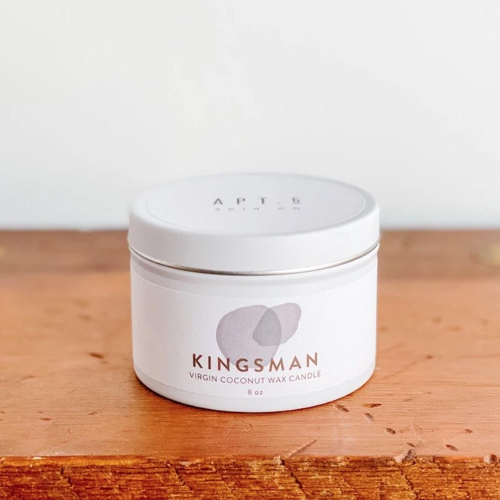 Kingsman  (Coconut Wax Candle)