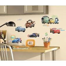 PEEL & STICK CARS APPLIQUES