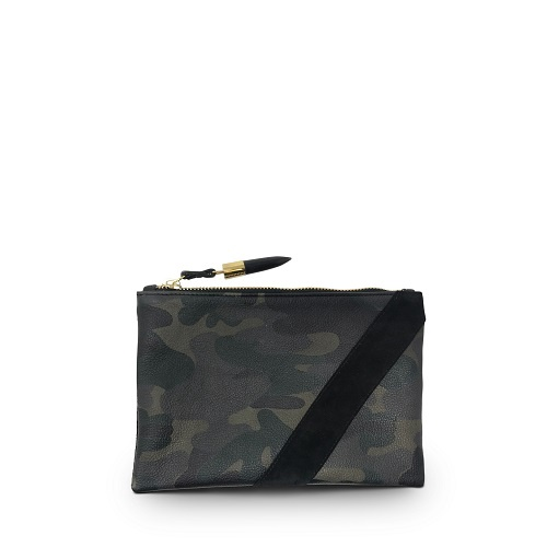 Dark Camo Small Pouch