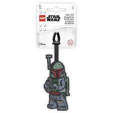 LEGO STAR WARS LIGGAGE TAG BOBA FETT