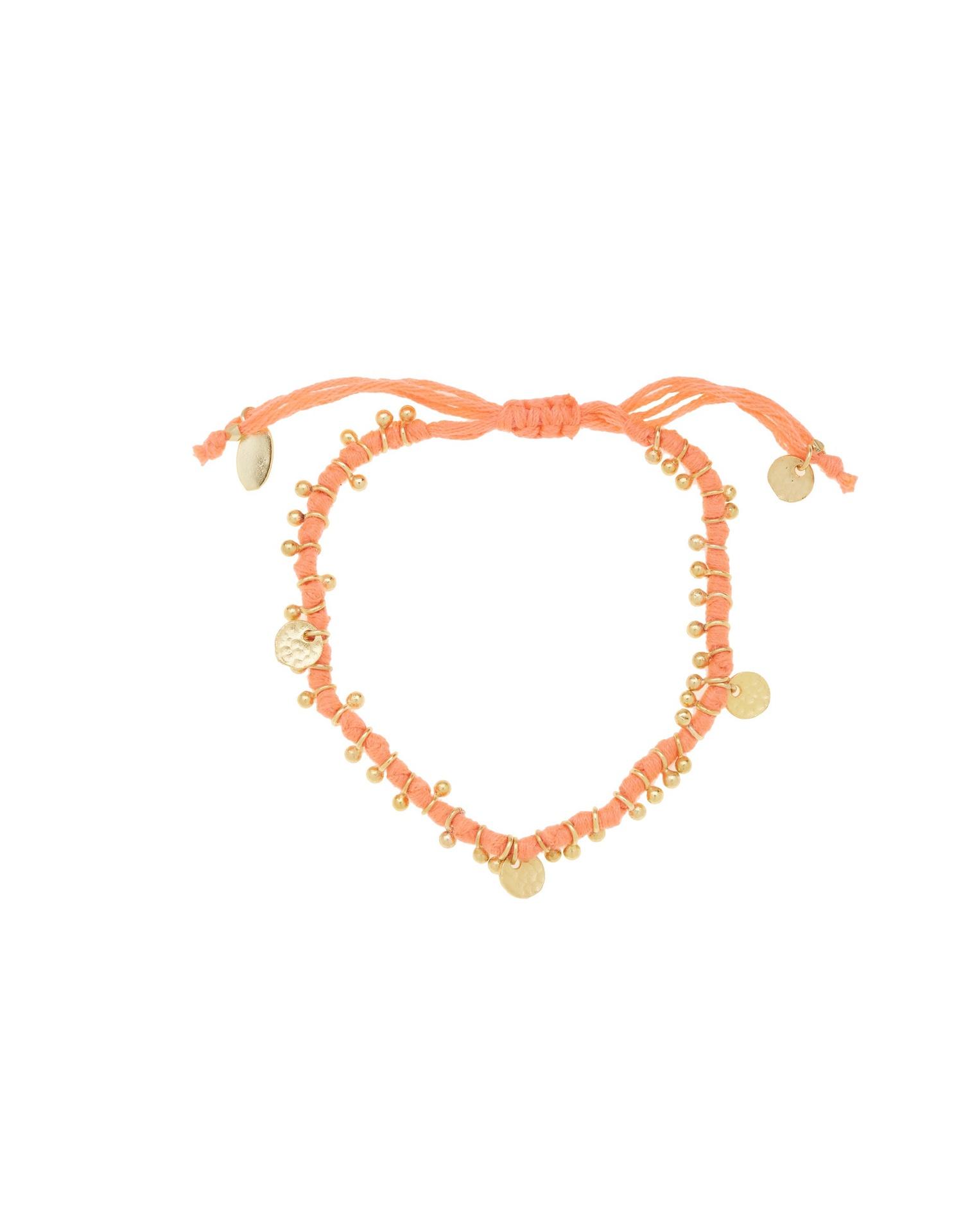 Adjustable Knotted Cotton Bracelet by Ashiana London