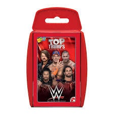 TOP TRUMPS WWE WRESTLING