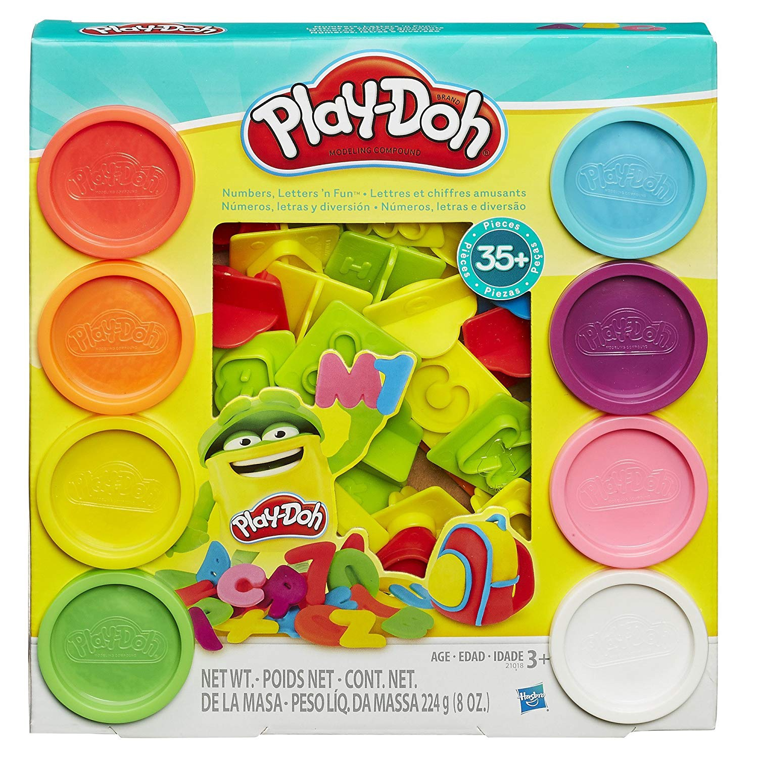 PLAY-DOH NUMBERS LETTERS 'N F