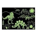 DINOSAURS GLOW IN THE DARK PUZZLE