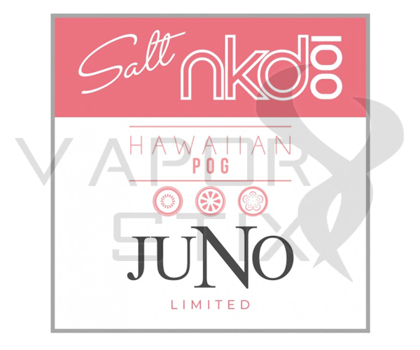 Juno & Naked100 Salt Hawaiian Pog Pods