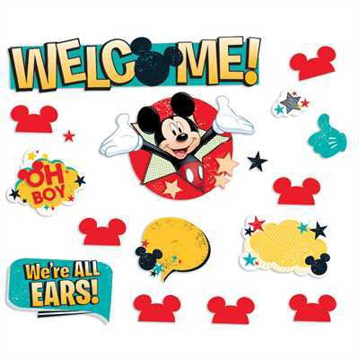 X EU 847250 MICKEY WELCOME MINI BBS
