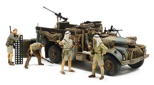 Tamiya #32407 1/35 British LRDG Command Car (North Africa)