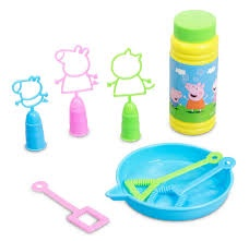 PEPPA PIG 3 IN 1 BUBBL SET