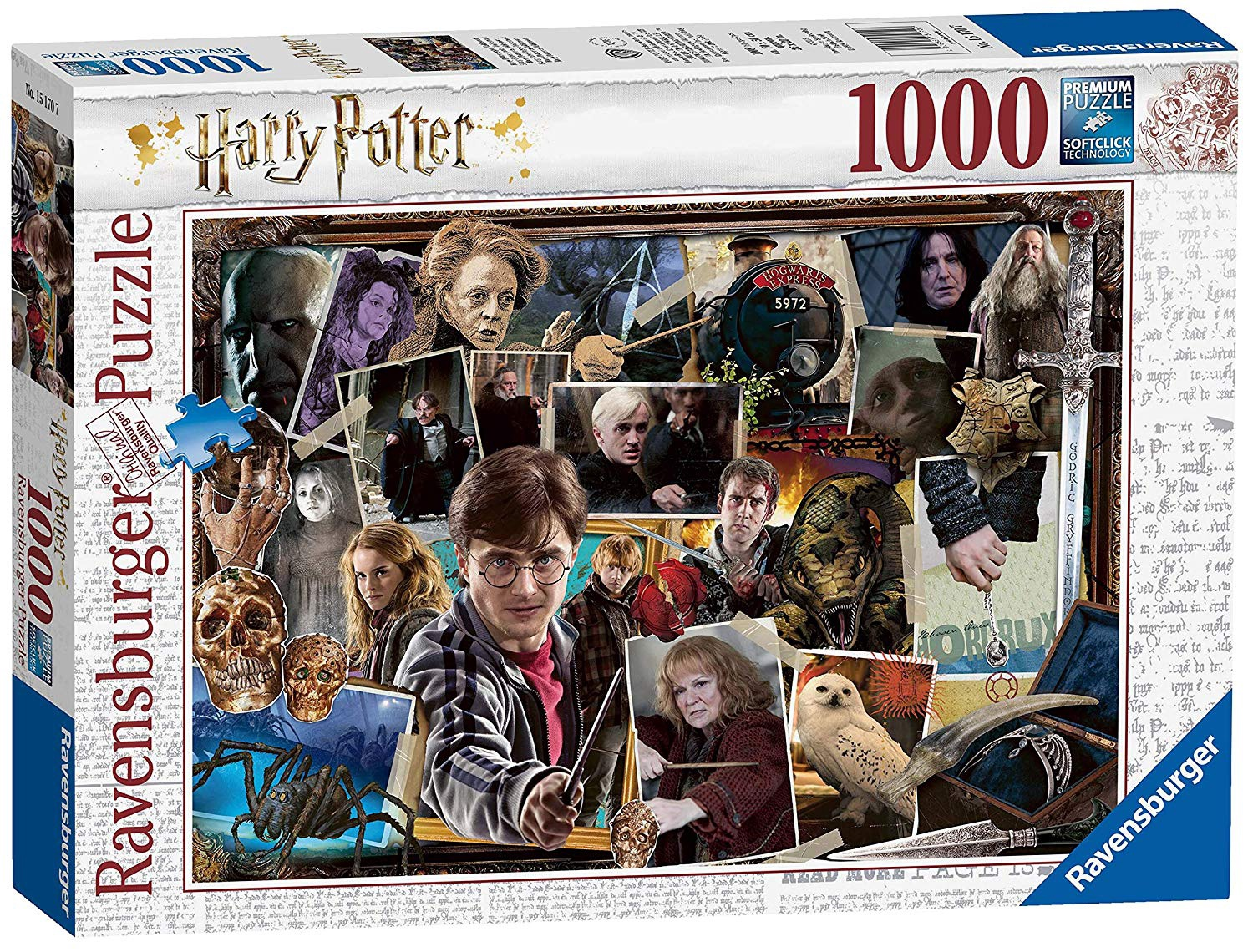HARRY POTTER VS VOLDERMORT 1000 PCS