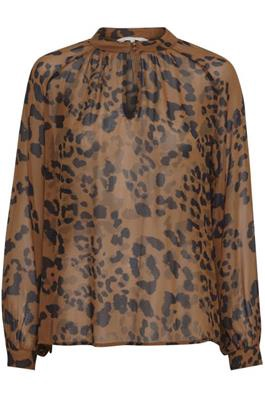 Part Two Tali Blouse Leopard Print