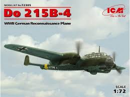 ICM #72305 1/72 Do 215B -4 Reconnaissance Plane