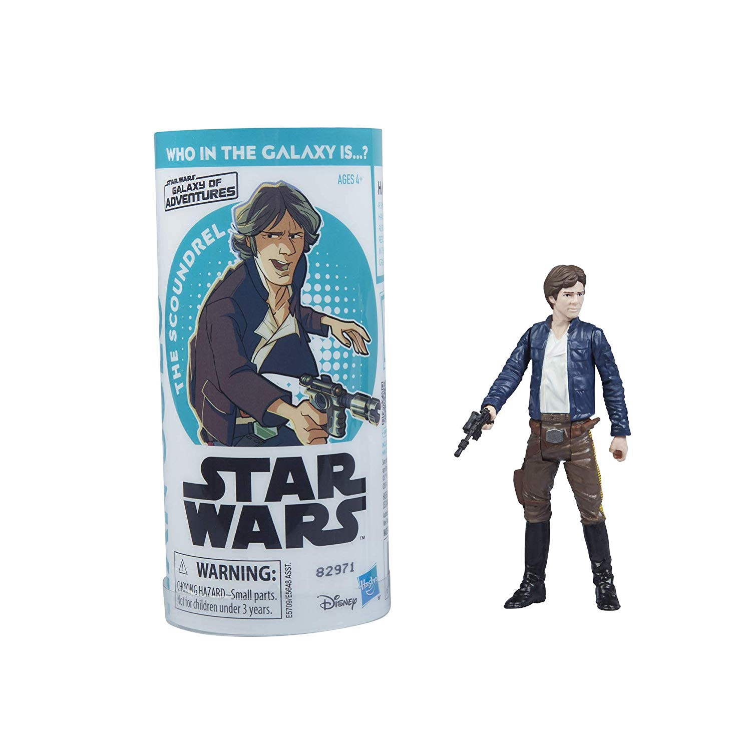 STAR WARS GALAXY OF ADVENTURES HAN SOLO