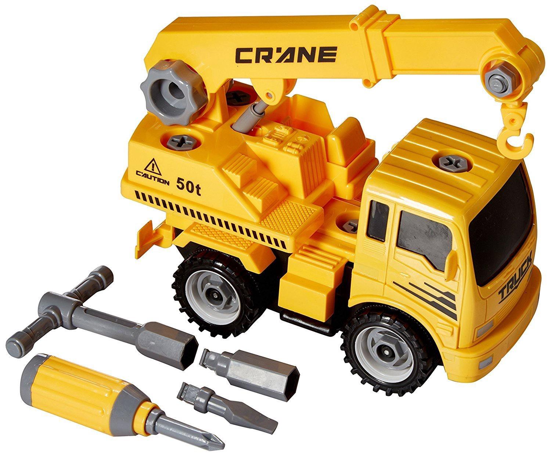 CONSTRUCT A TRUCK CRANE