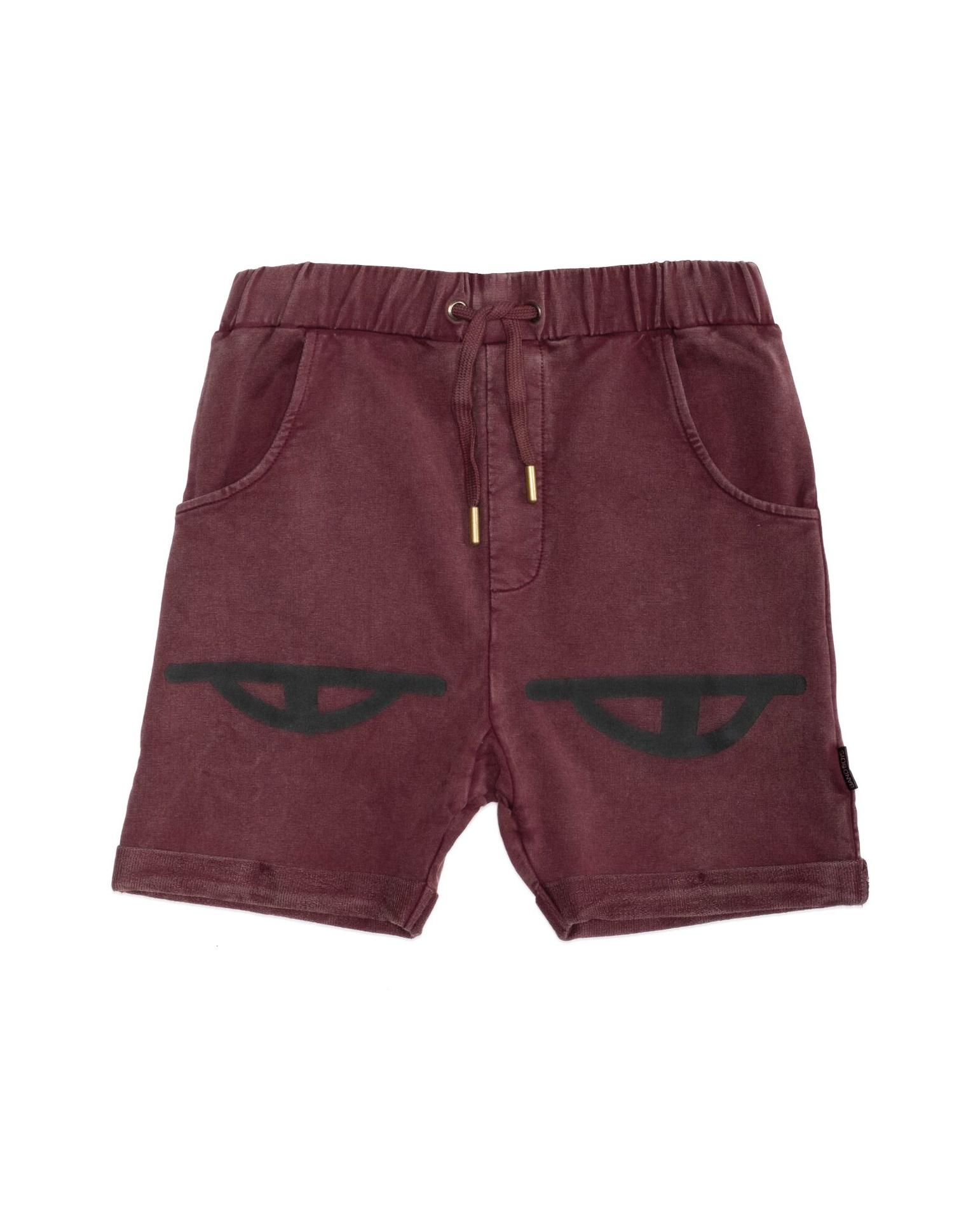 BOB Eyes Vintage Red Shorts