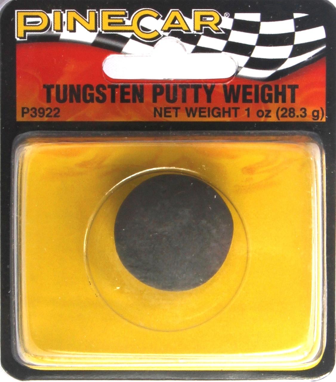 Pinecar #3922 Tungsten Putty Weight
