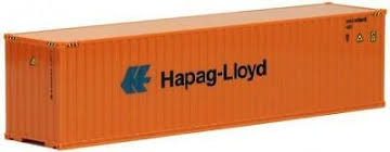 Walthers #933-1705 40' High Cube Container-Hapag-Lloyd