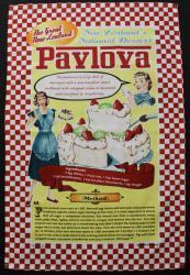 pavlova teatowel