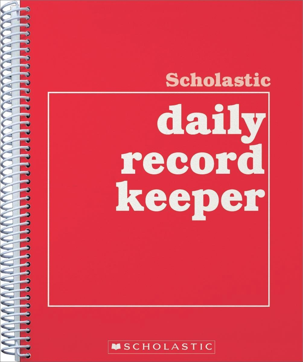 X SC 0590490680 SCHOLASTIC DAILY RECORD BOOK