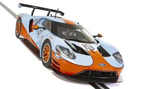 Scalextric #4034 1/32 Ford Gt GTE Team Gulf #19